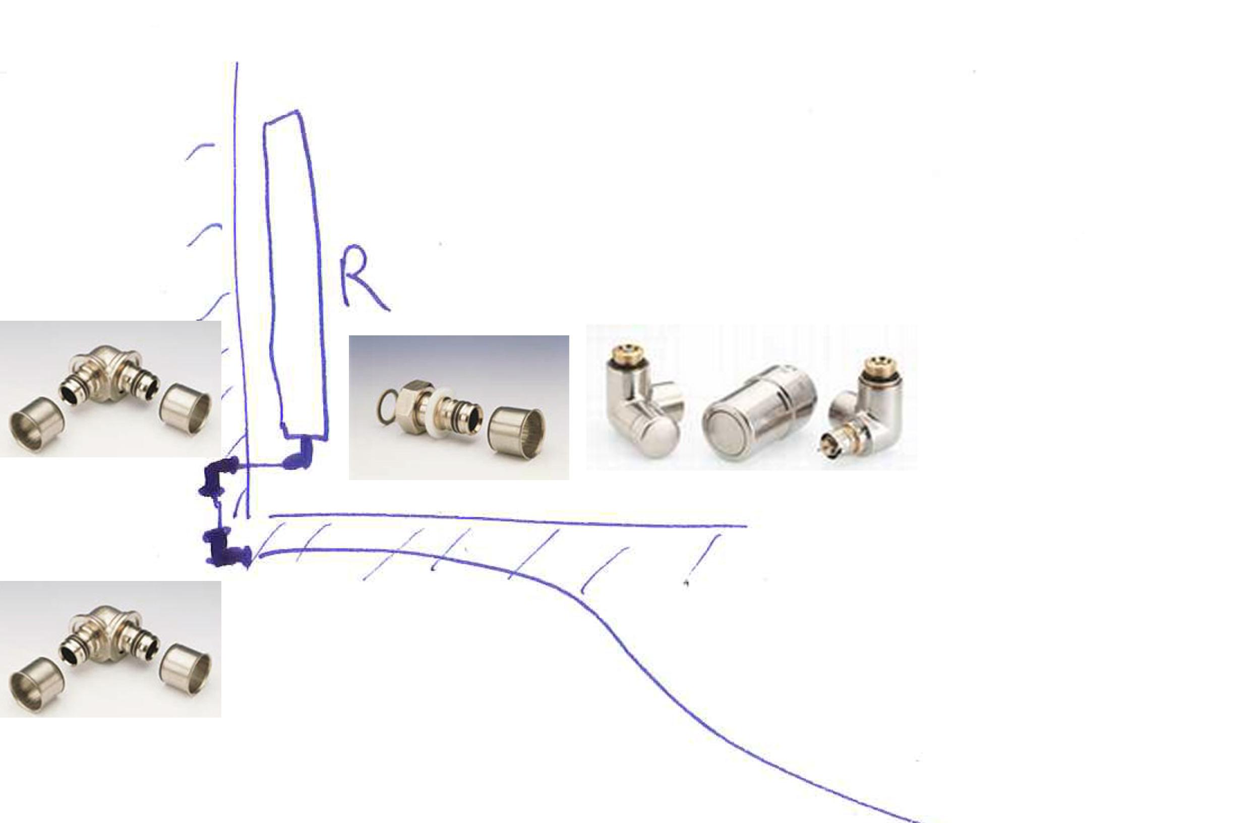 sortie de cloison multicouche pour radiateurs page 1 installations de plomberie en g n rale. Black Bedroom Furniture Sets. Home Design Ideas
