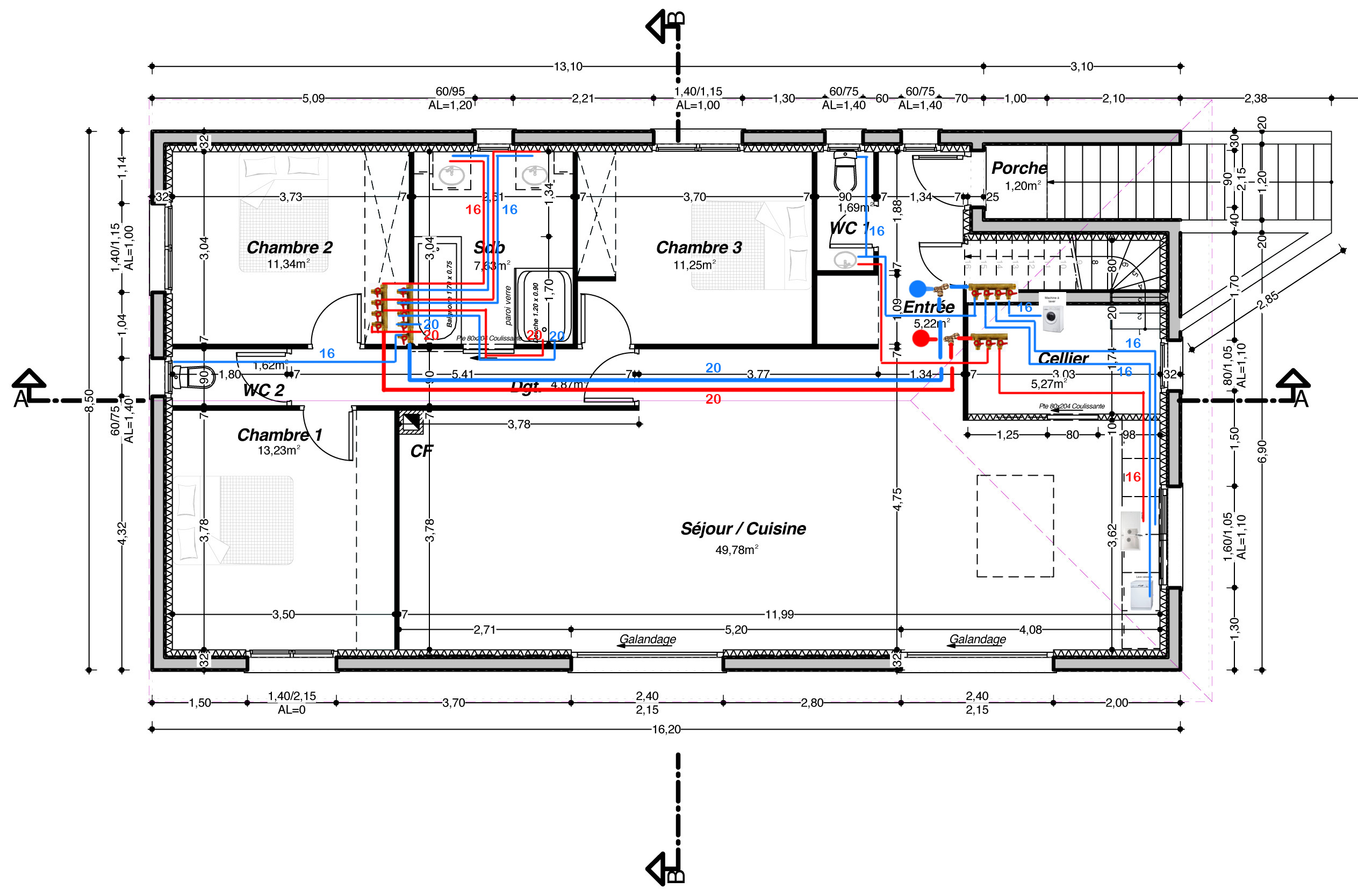 ETAGE - Plan alim eau.jpg, 542.54 kb, 2527 x 1669